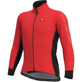 Alé Cycling Solid Fondo Giacca Uomo, rosso/nero